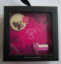 Orig. 2er Pin Set  Olympische Spiele LONDON 2012 - R.SPORTGYMNASTIK / in Box  !!