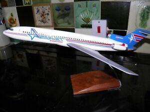 Pacmin travel agent display model. Amerijet International Boeing 727. 1:100