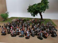 Lot de petits soldats romains 1/72 plastiques peints