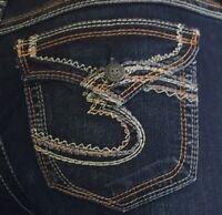 NEW Silver Jeans Women's SUKI SURPLUS Mid Rise BootCut Leg 80906A