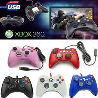 XBOX 360 Controller USB Wired Game Pad For Microsoft Xbox 360 Windows PC MAC