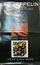 Led Zeppelin How West Was Won, original Atlantic promo poster, 2003, 11x17, Ex!