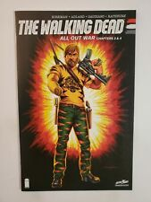 THE WALKING DEAD: ALL OUT WAR CHAPTERS 3 & 4 (NM) 2017 CONVENTION EXCLUSIVE