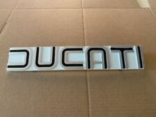 DUCATI 860 - 900 TANK BADGE CURVED A NEW CAST REPRO