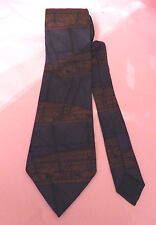 Beckford Silk 100% silk tie in brown, purple and grey