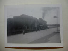 DEN195 - c1940s DANISH  STATE RAILWAY - STEAM TRAIN PHOTO Denmark