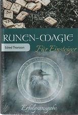 RUNEN-MAGIE FÜR EINSTEIGER - Edred Thorsson - BUCH SET - NEU