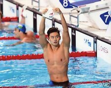 ZETAO NING CHINESE MEN'S SWIMMING 8X10 SPORT PHOTO (DD)