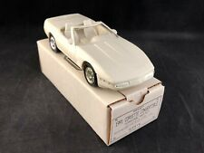 Ertl 1991 Chevy Corvette Convertible (Cascade White) Promo Car 6044EP New in Box