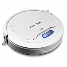 PureClean PUCRC25 Smart Automatic Robot Vacuum Cleaner, Carpet, Hardwood Floor