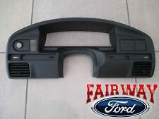 94 thru 97 F150 F250 F350 Sd Oem Ford Instrument Cluster Dash Panel Bezel Gas