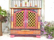More details for vintage bohemian colourful decorative indian hindu temple shrine alter mandir