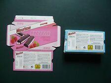 Wikkels  Chocolade Meurisse chocolat - omslagen - emballages point  Artis  punt
