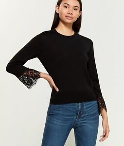 Moschino black sweater with laces XS/S