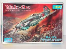 ICM #48011 1/48 WW2 SOVIET  FIGHTER YAK-9K OPEN/COMPLETE