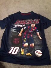 Messi Shirt. Polyester T Shirt Tee. Youth Small. New.