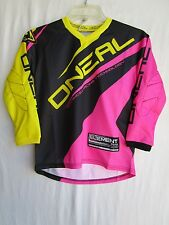 ONEAL O'neal Element YOUTH girl's jersey LARGE motocross BMX 0025-714