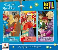 DIE DREI !!! - DIE 14.3ER-BOX (FOLGEN 40-42)  3 CD NEU
