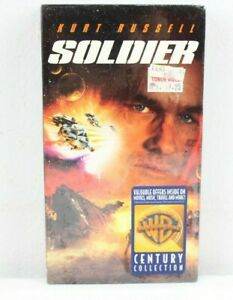 Soldier 1998 VHS Kurt Russell Jason Scott Lee Warner Bros Century Collection