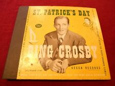 (5) 78's for St. Patrick's Day by Bing Crosby, The Jesters, & Judy Garland - 194