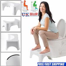 Non Slip Toilet Stool Bathroom Bath Squat Sit Step Stool Platform Shower Chair