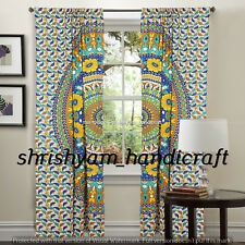 Ombre Mandala Bohemain CURTAIN Tribal Boho Hippie Indian Bedroom Decor Tapestry