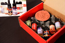 Stove Scents liquid potpourri for your stove (SC6-TCS) with a terracotta stone