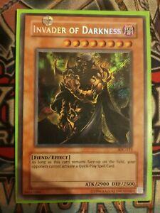 Invader of Darkness IOC-111 Secret Rare Near Mint Condition UNL Edition