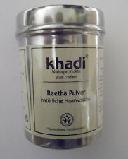 5,27 €/100g Khadi Reetha Pulver 150 g Dose, natürliche Haarwäsche Naturkosmetik
