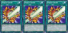 Shield Crush X 3 1st Mint YSKR-EN038 yugioh