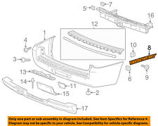 GM OEM Rear Bumper-Side Bracket Left 22806425