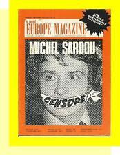 LE NOUVEL EUROPE MAGAZINE 83 (4/77) MICHEL SARDOU