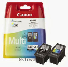 Original Canon PG540 Black & CL541 Colour Ink Cartridges for Pixma MG3150