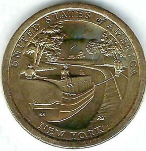 2021-D & P $1 Coin for American Innovation New York Series (2 Coins)!