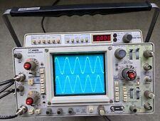 Tektronix 465 100mhz Oscilloscope Calibrated Sn B306793 With 2 Probes