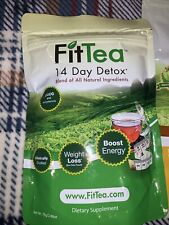 Fit Tea 14 Day Detox Herbal Weight Loss Tea- Natural Weight Loss, Body Cleanse