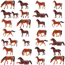 AN8702CN 60pcs 1:87 Well Painted Farm Animals Horses HO Scale