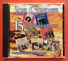 Los Condes 15 Grandes Exitos Boleros CD DISCO HIT 2004 Puerto Rico