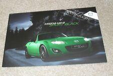 Mazda MX5 Sport Black Special Edition Brochure 2011