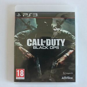 Call of Duty: Black Ops PlayStation 3 PS3 War Shooter Zombies Combat Multiplayer