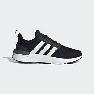Mens Adidas Racer TR21 Wide Black Running Athletic Sport Shoe GW7963 Size 9W-12W