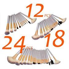 Gold Professional Makeup Brushes Set Cosmetic Tool Eyeshadow Makeup + Luxury Bag