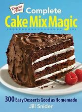 Complete Cake Mix Magic: 300 Easy Desserts Good as Homemade-ExLibrary
