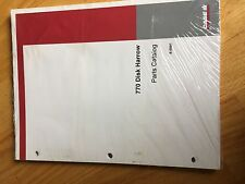 CASE 770 DISK HARR TRACTOR  PARTS BOOK CATALOG  MANUAL TRACTOR NEW INTERNATIONAL