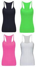 Mädchen Kinder Einfarbig Ärmellos T-Shirt Ärmelloses Top Sommer Rasierer Rücken