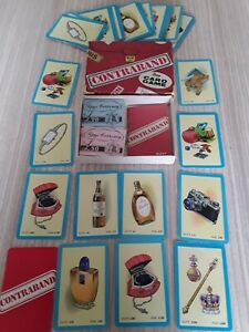 Vintage collectible CONTRABAND card game by Pepys