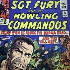 1965 Marvel Comic # 23 ~ Sgt Nick Fury & His Howling Commandos ~ Silver Age