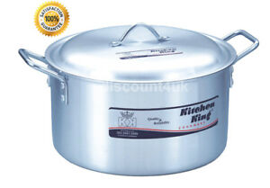 Kitchen King Indian Cooking Pan Pot Ideal for Asian Cooking
