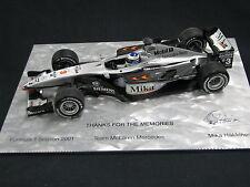 Minichamps McLaren Mercedes MP4/16 2001 1:18 #3 Mika Hakkinen (JS) 2001 Season