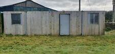 32ft x 10ft Portable Cabin Portable Office Site Office Welfare Unit £2000 + vat